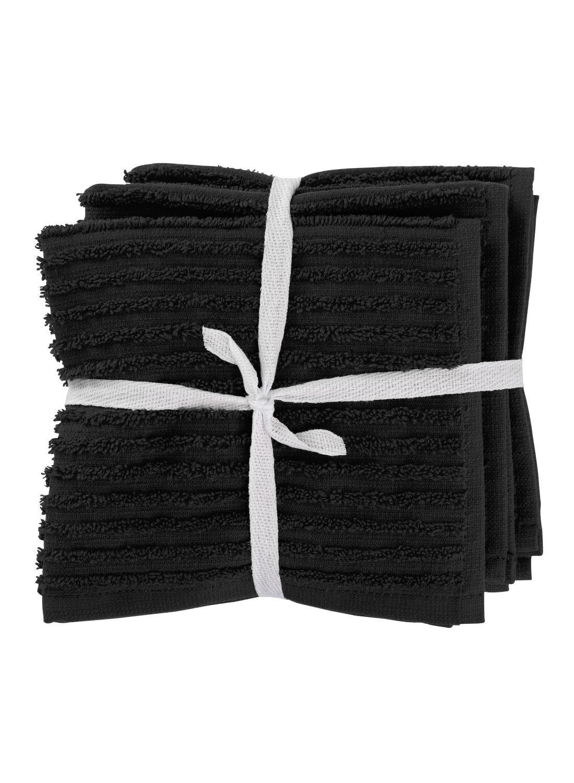 HEMA Vaatdoekjes – Katoen – Zwart – 3 Stuks (zwart) | 8716618013975