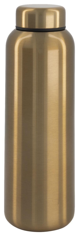 HEMA Isoleerfles 450ml Rvs Dubbelwandig Goud | 8713475350694
